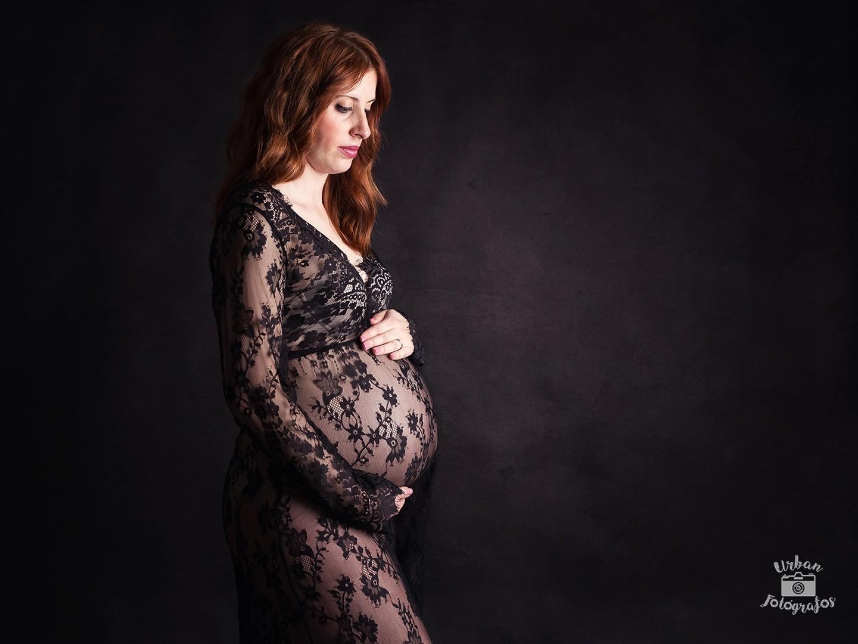 fotos en estudio maternidad
